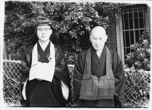Suzuki Roshi and Matsuoka Roshi
