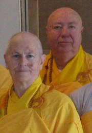Revs.Ken & FernMcGuire,ordained in the Vietnamese Zen Tradition
